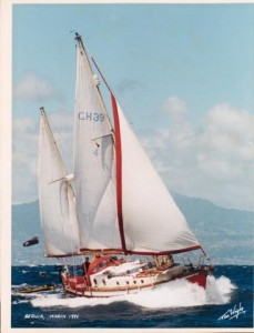 southernchancersailinginbequia
